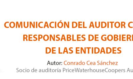 e-Book – Comunicación del Auditor con los responsables de gobierno de las entidades